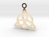 Triquetra Charm Pendant 3d printed