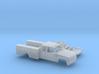 1/87 1990-98 Chevy Silverado ExtCab Utility Kit 3d printed