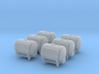 SET 6x Ddihkr 642 Behälter (N 1:160) 3d printed