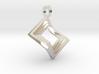 Pseudo cube [pendant] 3d printed