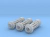 Tsunami Gatling Weapons - Set of 3 (Short Barrel) 3d printed