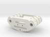 Chargeport holder greebles for arduino chassis 3d printed