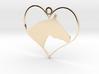 Horse Heart 3d printed