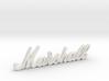 """Marshall Logo - 3.25"""" for Pinball Speaker Panel 3d printed"""