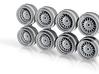 Sprint Hart Dunlop CP-R 7-5 JH2 Hot Wheels Rims 3d printed