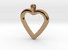 Classic Heart Pendant 3d printed