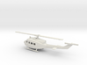 1/87 Scale UH-1J Model 3d printed