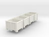 HO Scale Palletbox 4pc 3d printed