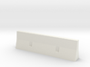 concrete barrier scale 1/87 3d printed
