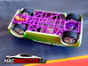 MagDragster [MD-Golf01] RC Car / MagRacing Car 3d printed MagDragster Chassis