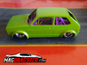 MagDragster [MD-Golf01] Golf Mk1 RC Car / Slot Car 3d printed MagDragster - You need the TAMIYA 1/24 VW Golf Racing Group 2 body for this chassis.