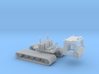 Snowcat Track Machine 1-87 HO Scale 3d printed
