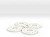 Brake Rotor Set (30mm diameter) 3d printed