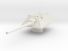 krupp turret for E100 scale 1/100 3d printed
