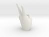SH Figuarts Hand Gestures V Sign Victory Vegeta Dr 3d printed 3D Render