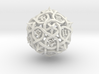 Spindown Thorn d20 3d printed