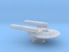 Terran Yvonne Mk II Class Frigate - 1:7000 3d printed