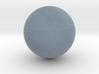 Uranus 1:250 million 3d printed