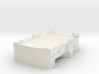 1/144 Bismarck lower bridge deck #1 3d printed
