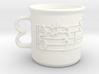 8 Oz. Alto Clef Coffee Mug, Telemann 3d printed