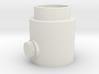 Button Knob 3d printed