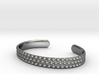 Hobnail Cuff Bracelet Large 3d printed