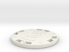 Bitcoin Poker Chip 10k 3d printed