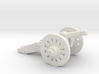 O Scale Cannon 3d printed This is a render not a picture