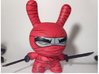 "Dual swords for 8"" inch Dunny ninja weapon 3d printed"