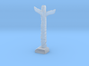 N Scale Totem Pole 3d printed This is a render not a picture
