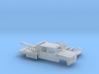 1/87 1990-98 Chevy Silverado CrewCab Wrecker Kit 3d printed