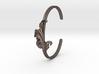 Acanthus Leaf Bangle Cuff 3d printed