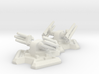 Missile Turret X2 (6mm Scale) 3d printed