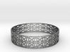 Tangentoidal Crown Curve Bracelet (001a) 3d printed