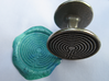 Labyrinth Wax Seal 3d printed turquoise wax