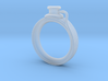 Stethoscope Ring 3d printed