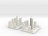 World Trade Center complex evolution 3d printed