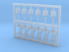 6 Stück Blitzboje Typ-B mit Halter in 1:50 3d printed