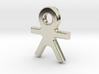 Human Pendant (with loop) 3d printed