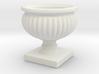 Planter Urn Hollow Form 2017-0010 Porcelain 3d printed