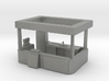 HO Scale Food Stand(2) 3d printed This is render not a picture