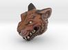 Full Colour Oni Tiger, Miniature Noh Mask 3d printed