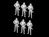 (1/47) 6x Clone Trooper Phase 2 in formation 3d printed