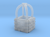 O Scale Hot Air Balloon Basket 3d printed This is a render not a picture