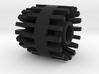 3.5mm jack Connector Holder for side blades FEMALE 3d printed