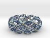 Counter rotating Torus with Celtic knots 3d printed