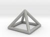 0719 J01 Square Pyramid  E (a=1cm) #1 3d printed