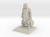 Human Cleric 3d printed