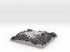 "Mount Elbrus Map: 8""x8"" 3d printed"