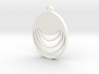 Loopy Lou Pendant 3d printed